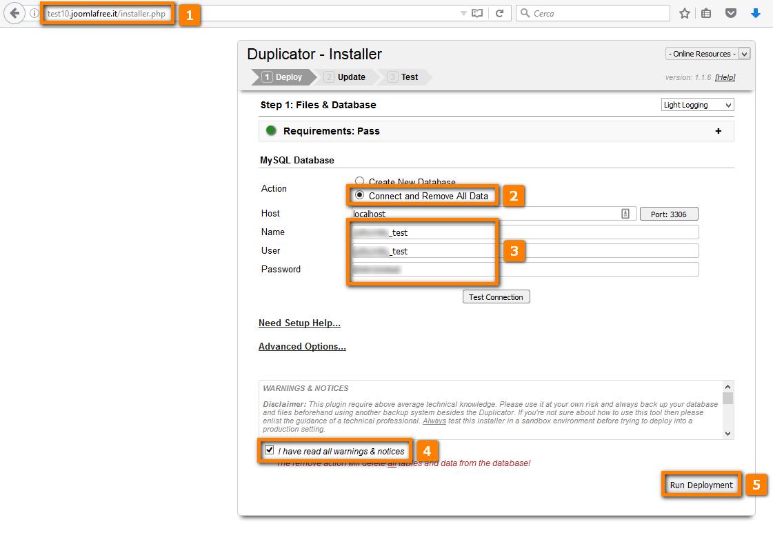 Migrare un sito wordpress da altro provider powered by kayako help desk software - Creare finestra popup ...